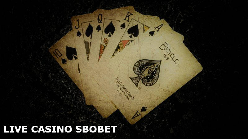 Judi Live Casino Sbobet